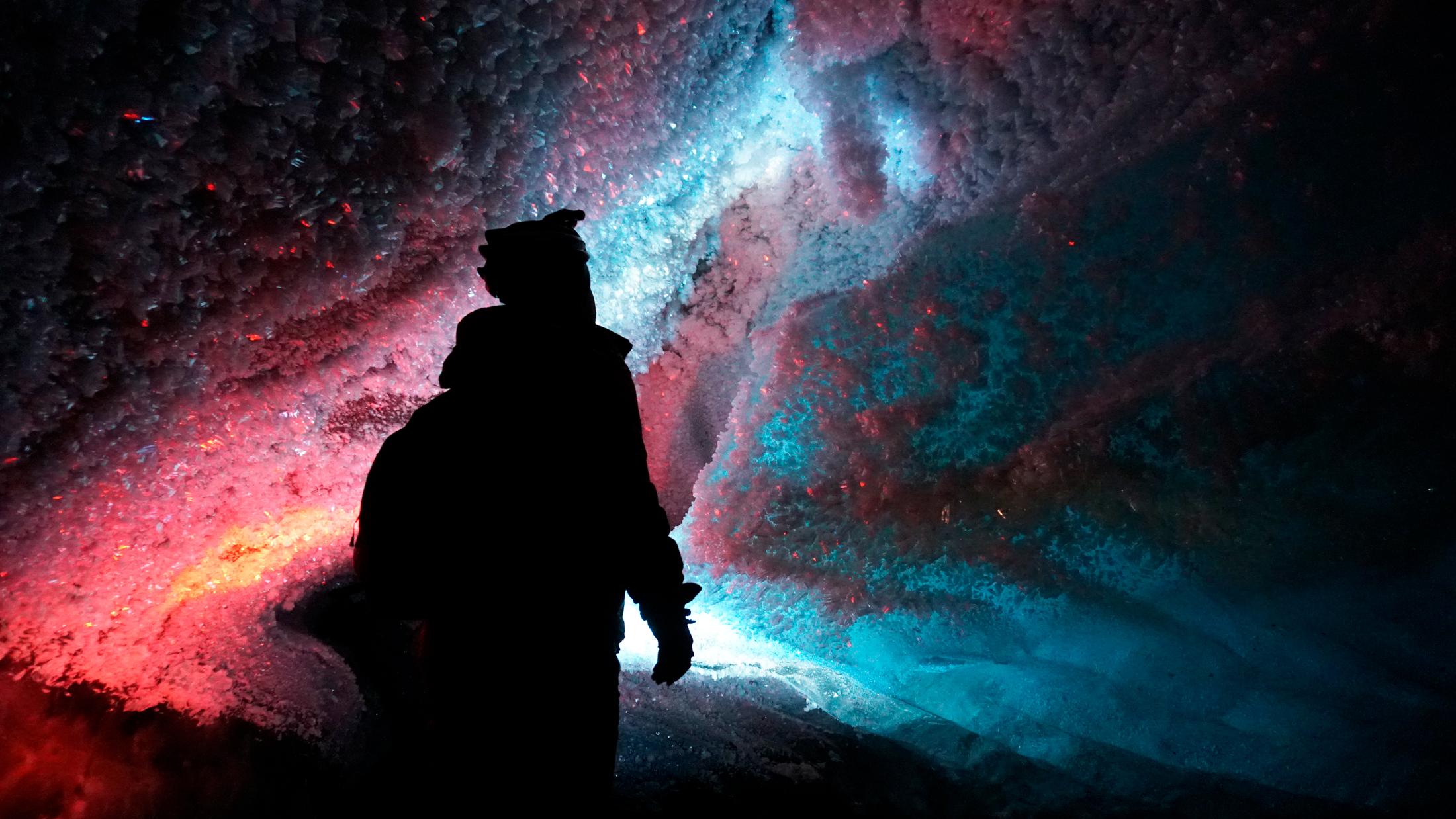 Другой мир: Октябрьская пещера + ледяная стена на Леднике Богдановича.