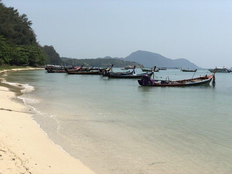 Пляж Ривай.  азия, море, отдых, путешествие, пхукет, тайланд, экзотика