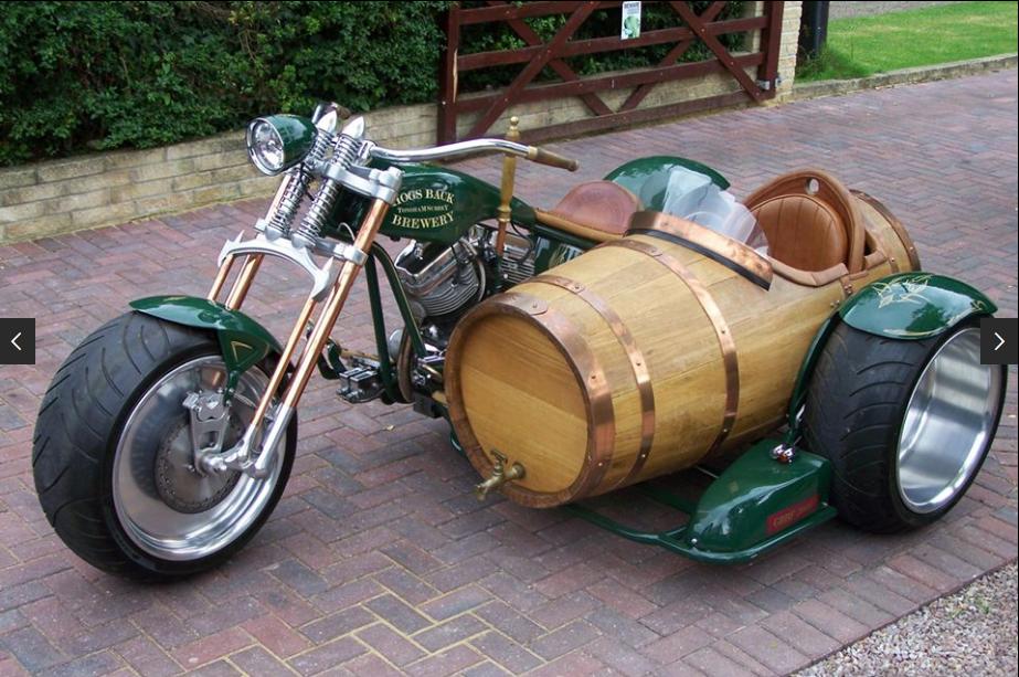 Мотоцикл для троих: самые безумные байки с колясками