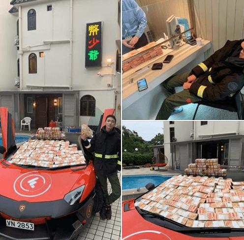 В Гонконге криптомиллионер разбрасывал доллары с небоскреба