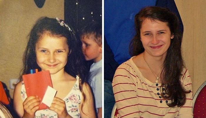Когда Вы Осознайте Вы выглядели одинаково в возрасте 6 и 18