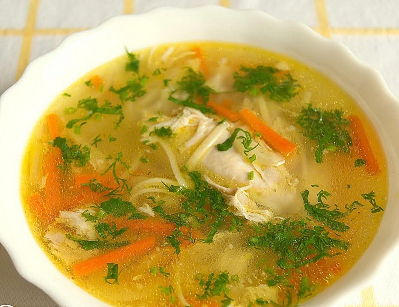 Легкие и простые рецепты куриного супа