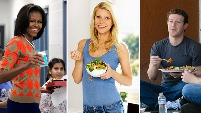 Чем обедают успешные люди: кто предпочитает фаст-фуд, а кто - строгую диету
