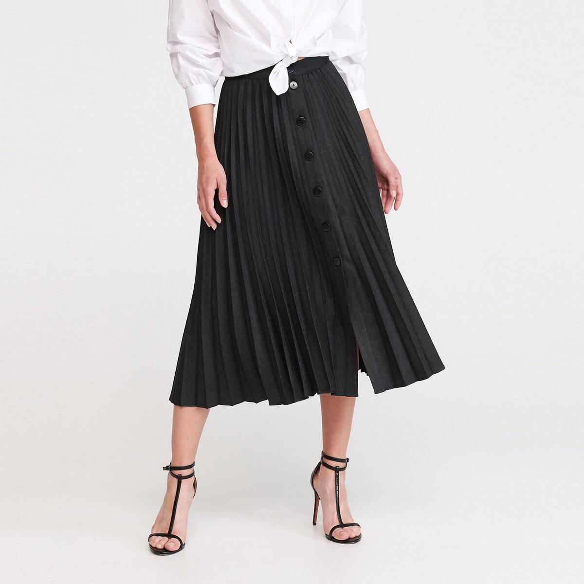 14 отличных  моделей юбок с пуговицами спереди для женщин застежкой, пуговицы, выбор, модель, Такая, можно, любой, такой, переда, Модель, отлично, хорошо, центру, поясом, модели, подойдет, подобрать, узкая, силуэта, любого