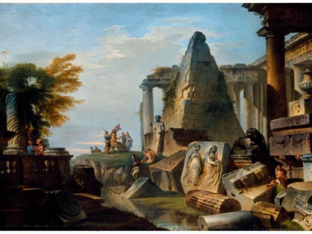 Картины художников-руинистов