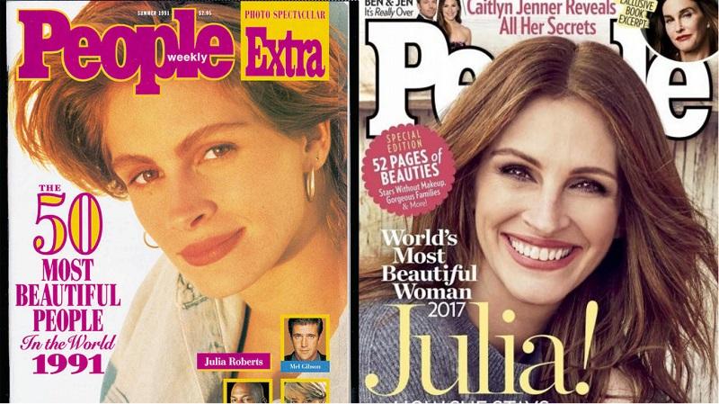 49-летняя Джулия признана самой красивой женщиной планеты во второй раз! Никакой пластики, секрет в… загадочность,знаменитости,интересное,очарование,фотографии