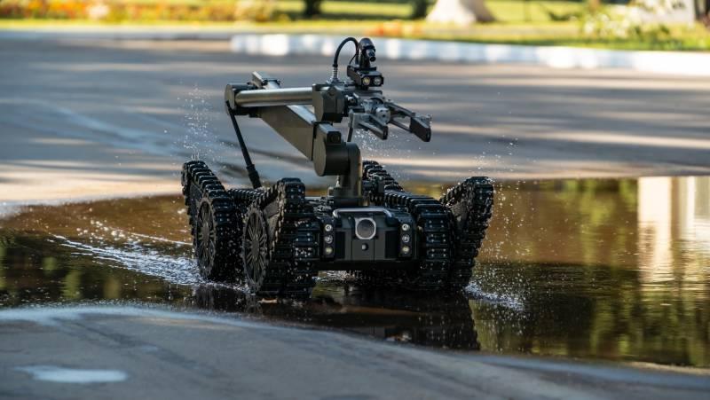 Робототехнический комплекс «Капитан» оружие