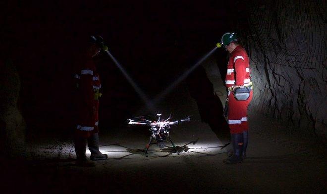 Беспилотники Hovermap самостоятельно составляют карты подземных пещер и туннелей