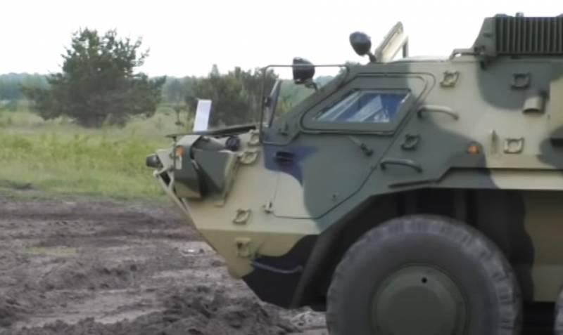 В ЛНР сообщили о переброске ВСУ дополнительной тяжёлой техники на луганское направление украина