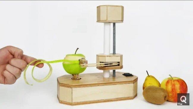 Как сделать автоматическую чистку овощей и фруктов