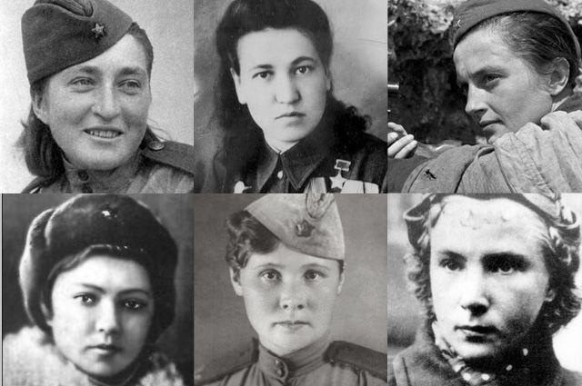 10 женщин-героинь Великой Отечественной войны