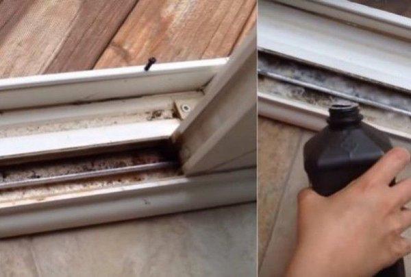 Как за несколько секунд сделать окна и раздвижные двери чистыми! советы