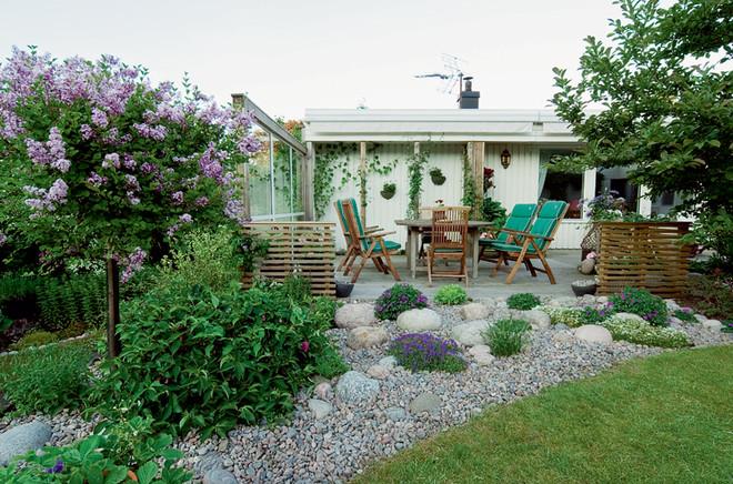 Как визуально расширить границы маленького сада
