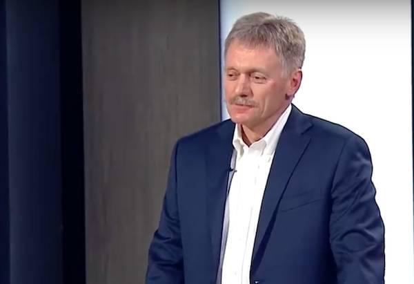 В Кремле высказались по поводу победы Зеленского