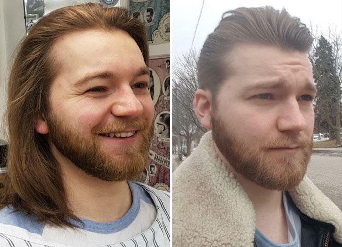 Отличная трансформация: мужчины, которые расстались с длинными волосами волосы, волос, которые, Каждый, слишком, решенииВолосы, своем, сомневается, слегка, волосамиВсе, расстаться, выбрался, время, пришло, выборСпустя, правильный, повзрослелДумается, теперь, растил, слушался