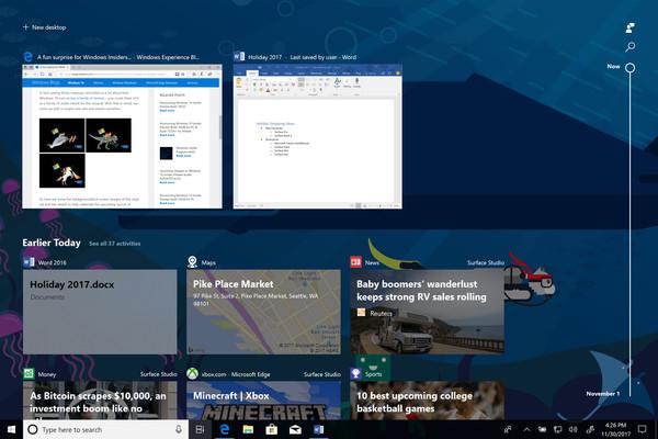 В Windows 10 появится продолжение сеанса на другом устройстве