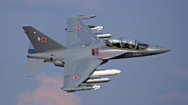 Як-130 (по кодификации НАТО: Mitten — «Рукавица») авиация ВКС, армия, россия