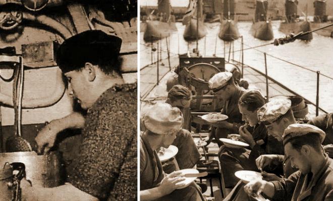 Сухпай подводников Рейха: сколько ели немцы под водой еда,кригсмарине,подводная лодка,Пространство,рецепт,субмарина,сухпай,третий рейх
