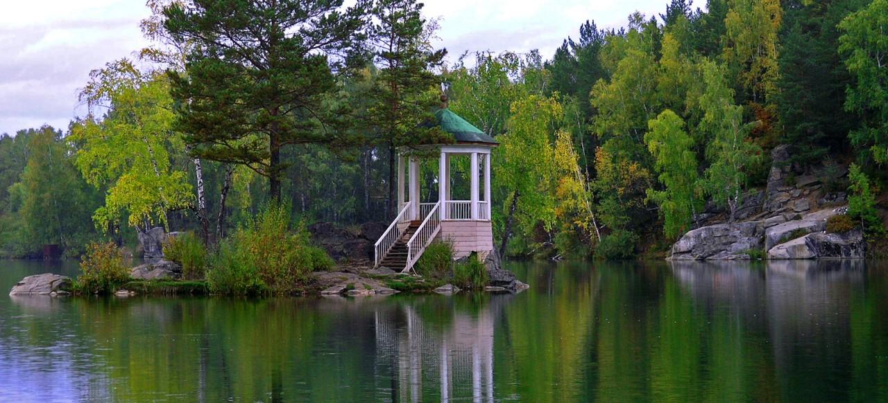 Красоты России. Озеро Ая