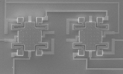 Машины-монстры: Самое маленькое электромеханическое реле, срабатывающее от напряжения в 50 милливольт наука