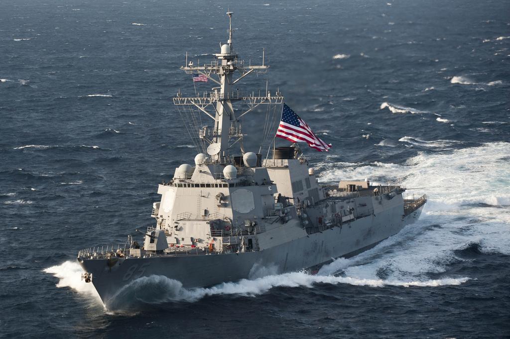 ВАЖНО: Эсминец ВМССША«брос…
