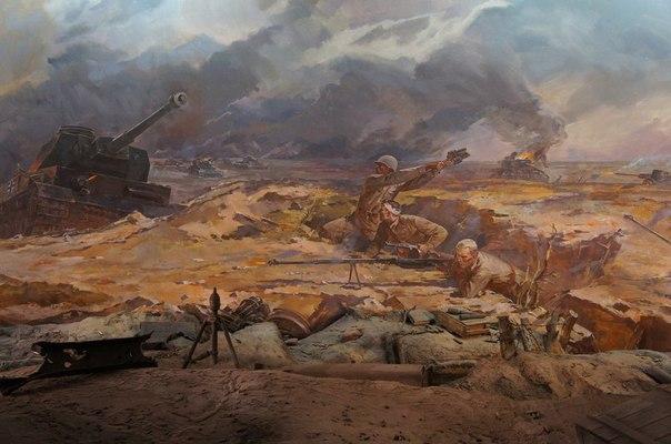 Выдающийся подвиг группы бронебойщиков под Сталинградом 1942 г.