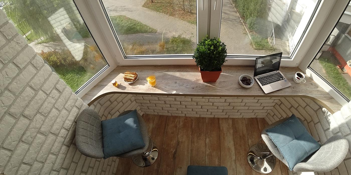 Всего 2,5 «квадрата». Посмотрите, как минчанин преобразил свой балкон