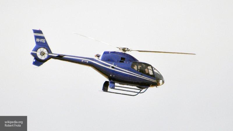 Вертолет с тремя людьми на борту пропал во время полета в Якутии