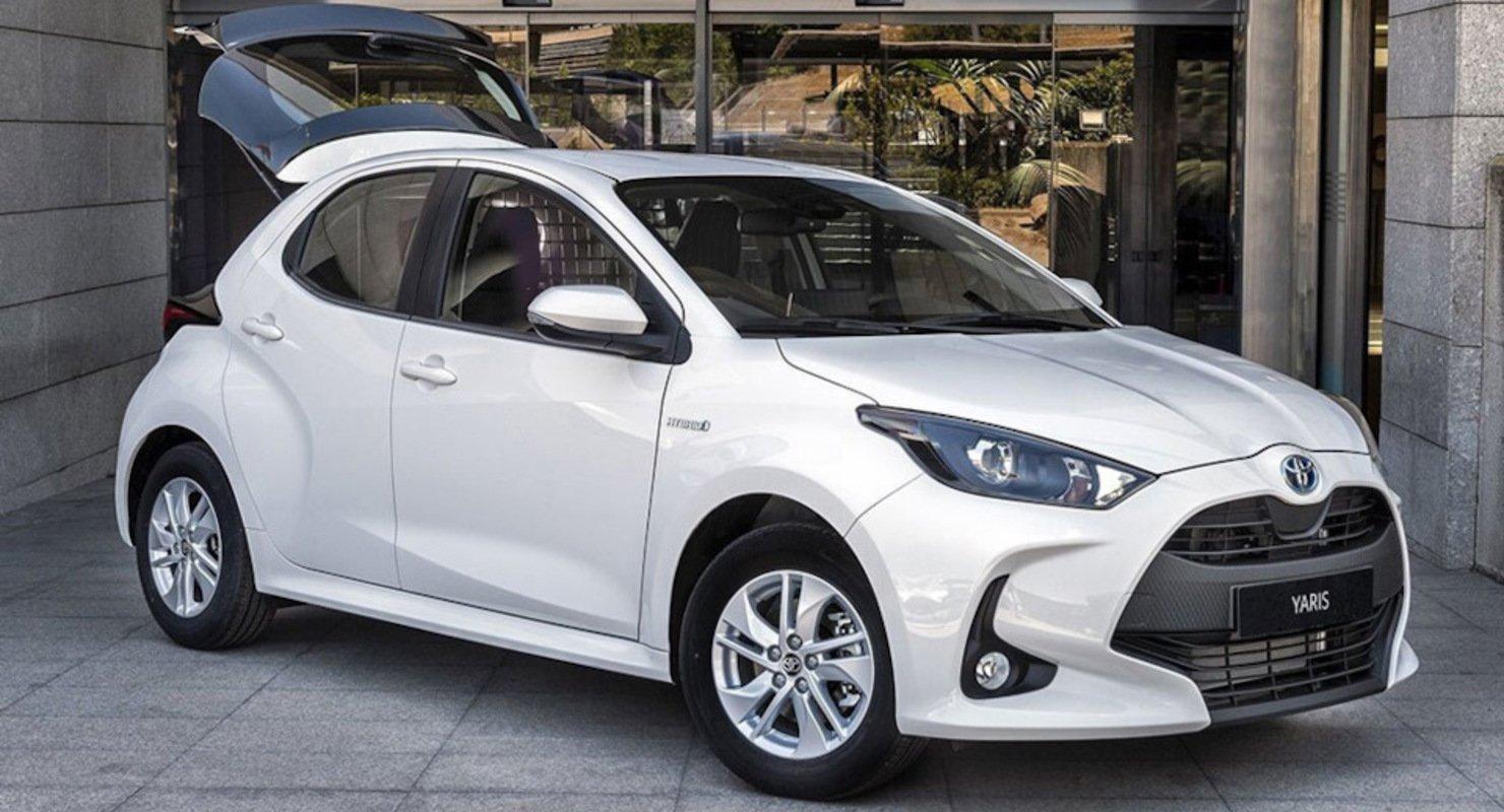 Toyota представил коммерческую модификацию Yaris Автомобили