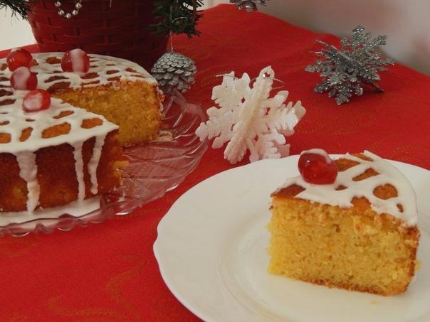 Быстрый праздничный пирог