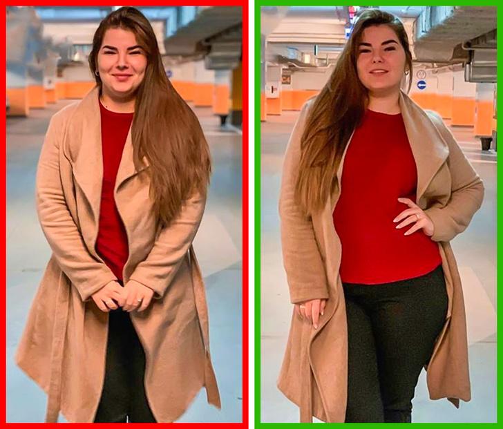 Как удачно сфотографироваться с первого раза, если твой размер — XL лайфхаки,мода и красота,фотографии