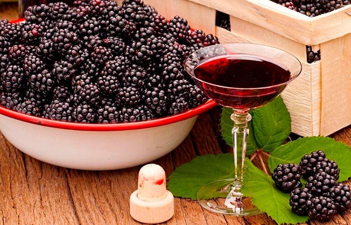 Домашний рецепт ягодного вина