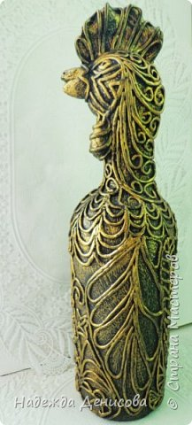 Золотой петушок из.... бутылки