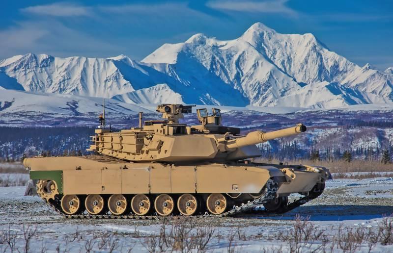 Танки M1A2C прошли испытания суровым климатом Аляски