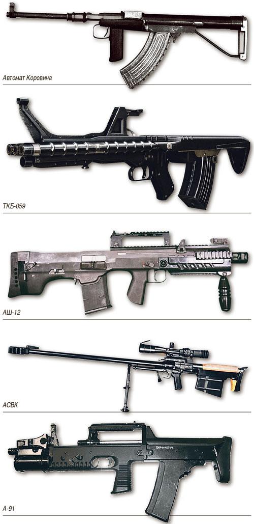 Пять лучших отечественных изделий с компоновкой булл-пап оружие