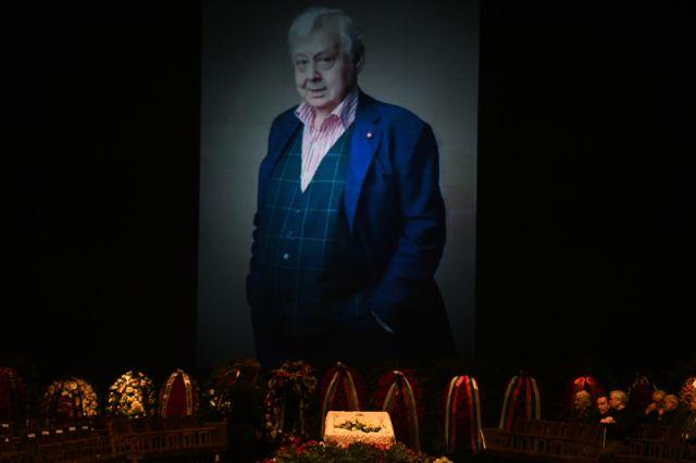 Прощание с Олегом Табаковым