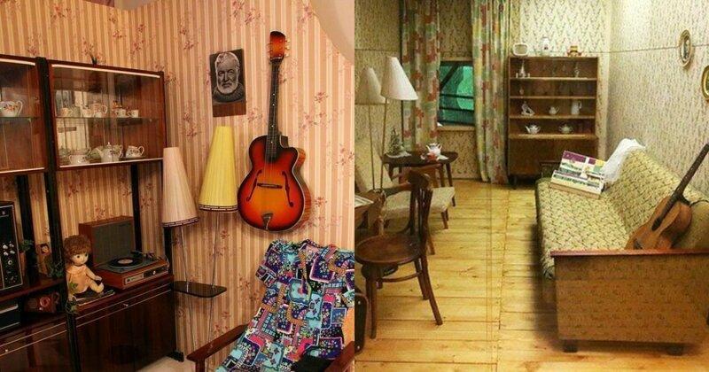 6 признаков интерьера квартир в СССР, в которых жили интеллигенты
