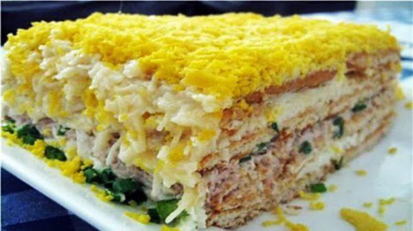 10 самых удачных и вкусных салатов для праздничного стола