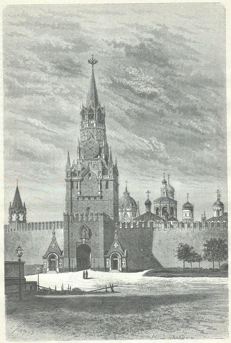 Главные ворота в Кремле, и через них по традиции въезжали в Кремль русские цари и императоры.