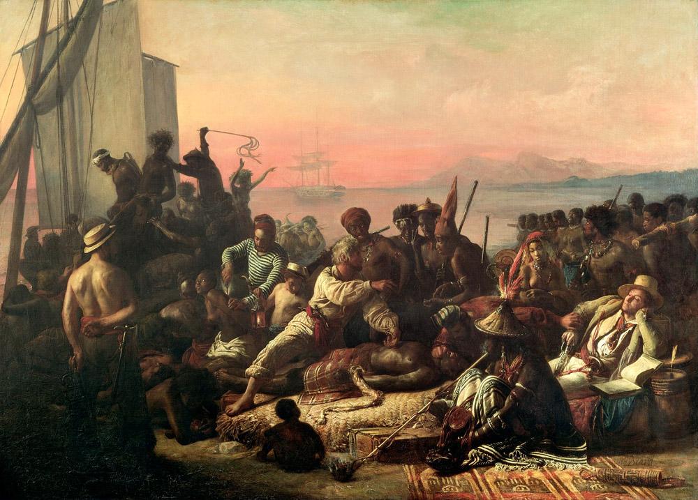 То чем занимались почти все страны Европы в России каралось каторгой англия,Африка,история,работорговля,Флот