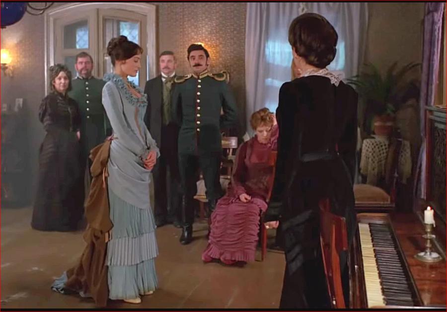 """Как одевались бесприданница и ее маменька. """"Жестокий романс""""  """"Жестокий романс"""",кино,киноактеры,костюмы"""