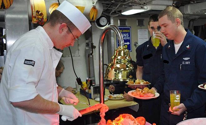 Как устроена кухня и столовая на атомной субмарине ценой в 2,7 миллиарда долларов Культура