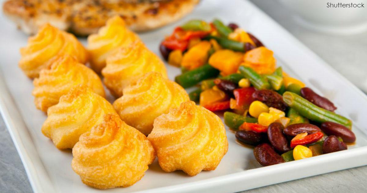 Картофельная ″Герцогиня″ - закуска, которая просто поражает