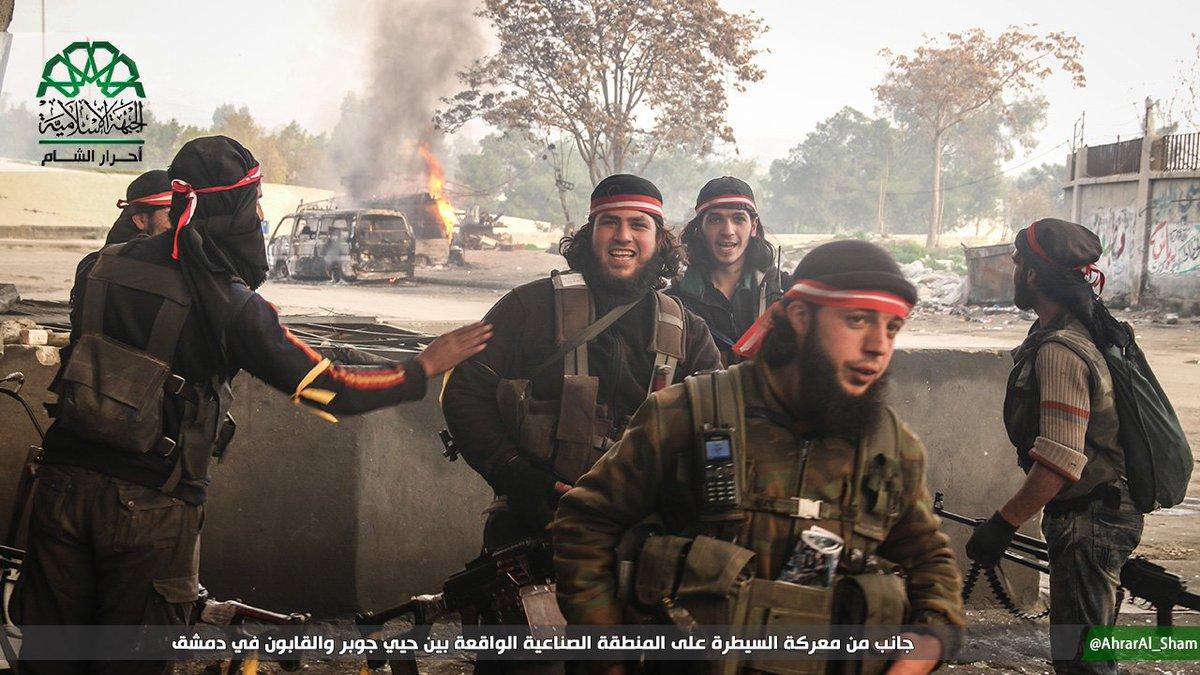 Жестокие бои под Дамаском: Запад открыл«второй фронт» в пользу боевиков (ВИДЕО)
