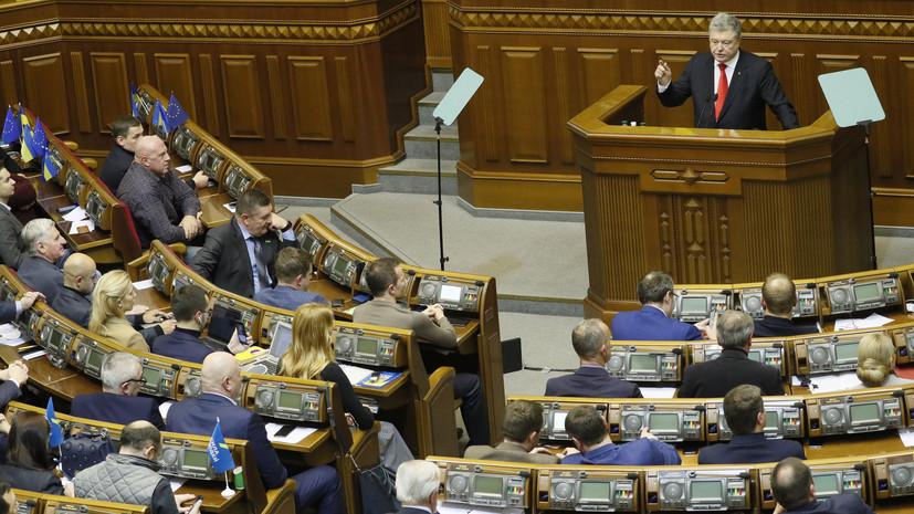 Месяц особого режима: Верховная рада утвердила введение военного положения в ряде областей Украины