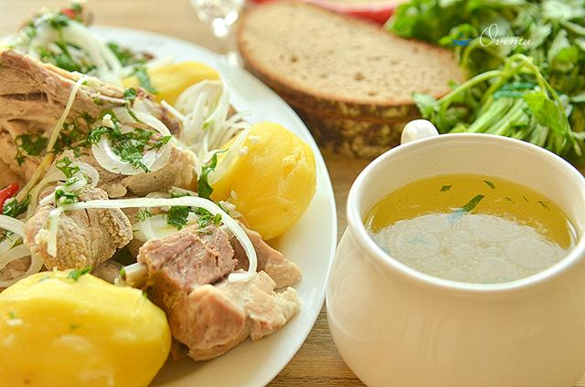 Украинская кухня. Херсонская юшка по-чабански