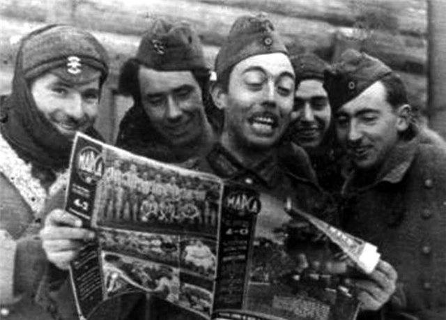 Как воевали испанские добровольцы против СССР