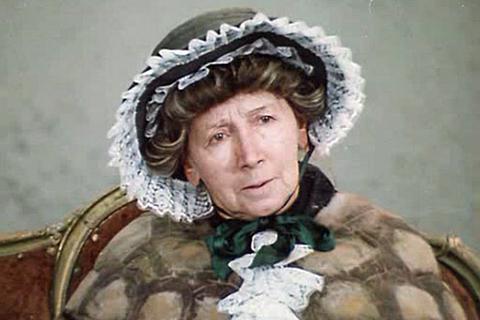Рина Зелёная - королева эпизода.