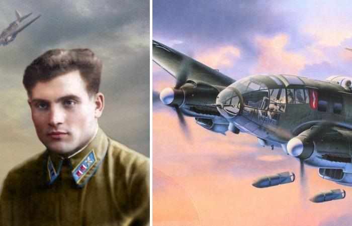 Подвиг Михаила Девятаева - советского летчика, который сбежал из фашистского концлагеря на вражеском самолете