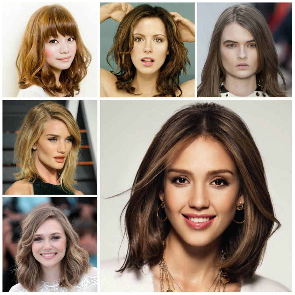 Стрижки на средние волосы: варианты, названия, советы по выбору